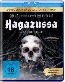 Hagazussa - Der Hexenfluch (Limited Collector's Edition) (Blu-ray), 1 Blu-ray Disc und 1 DVD