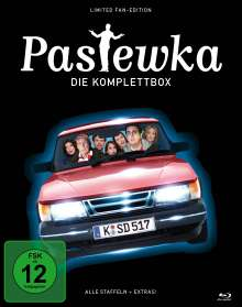 Pastewka (Komplette Serie inkl. Weihnachtsgeschichte) (Limited Fan-Edition) (Blu-ray), 9 Blu-ray Discs