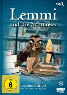 Lemmi und die Schmöker (Gesamtedition), 8 DVDs