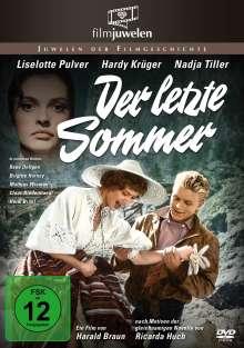 Der letzte Sommer, DVD