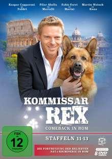 Kommissar Rex - Comeback in Rom (Staffel 11-13), 9 DVDs