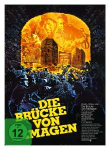 Die Brücke von Remagen (Blu-ray & DVD im Mediabook), 2 Blu-ray Discs und 1 DVD