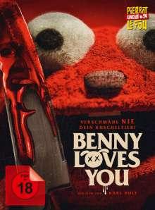 Benny Loves You (Blu-ray & DVD im Mediabook), 1 Blu-ray Disc und 1 DVD