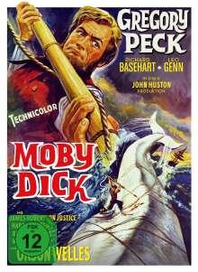 Moby Dick (1956) (Blu-ray & DVD im Mediabook), 2 Blu-ray Discs und 1 DVD