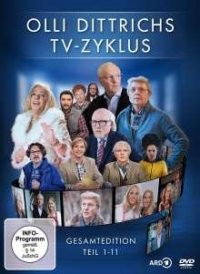 Olli Dittrichs TV-Zyklus - Gesamtedition Teil 1-11, 2 DVDs