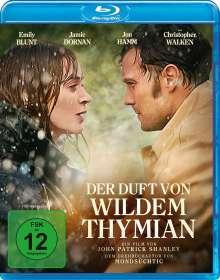 Der Duft von wildem Thymian (Blu-ray), Blu-ray Disc