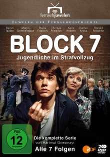 Block 7 - Jugendliche im Strafvollzug (Komplette Serie), 2 DVDs