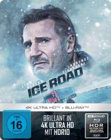 The Ice Road (Ultra HD Blu-ray & Blu-ray im Steelbook), 1 Ultra HD Blu-ray und 1 Blu-ray Disc