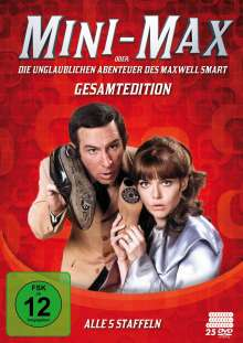 Mini-Max oder: Die unglaublichen Abenteuer des Maxwell Smart (Komplettbox), 25 DVDs