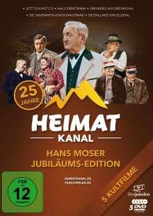 Hans Moser Jubiläums-Edition (25 Jahre Heimatkanal), 5 DVDs