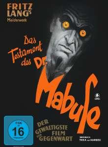 Das Testament des Dr. Mabuse (1933), DVD