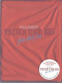 Feuer und Eis - Willy Bogner  [SE] [LE] [2 DVDs]  (+ CD-Soundtrack), 2 DVDs