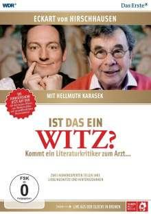 Karasek und Hirschhaausen: Ist das ein Witz? (Live aus der Glocke in Bremen), 2 DVDs
