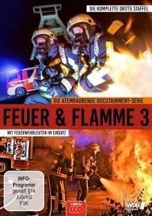 Feuer & Flamme - Mit Feuerwehrmännern im Einsatz Staffel 3, 3 DVDs