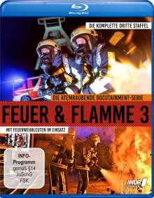 Feuer & Flamme - Mit Feuerwehrmännern im Einsatz Staffel 3 (Blu-ray), Blu-ray Disc