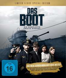Das Boot Staffel 2 (Special Edition) (Blu-ray im Digipack), 4 Blu-ray Discs