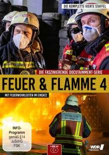 Feuer & Flamme - Mit Feuerwehrmännern im Einsatz Staffel 4, 2 DVDs