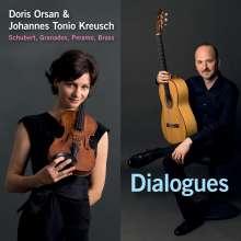 Doris Orsan/Kreusch: Dialogues: Schubert,Granados,Peramo,Brass, CD