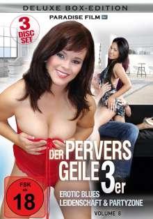 Der pervers geile 3er Vol. 8: Erotic Blues, 3 DVDs