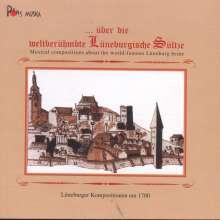 Über die weltberühmte Lüneburgische Sültze, CD