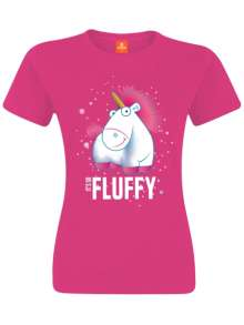 Minions: It's So Fluffy (Girl XS/Pink), T-Shirt