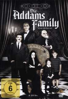 Die Addams Family Box 1, 3 DVDs