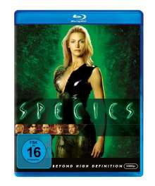 Species (Blu-ray), Blu-ray Disc