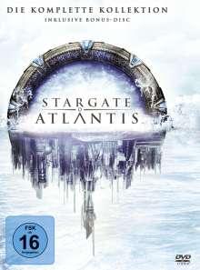 Stargate Atlantis Season 1-5 (Gesamtausgabe), 26 DVDs