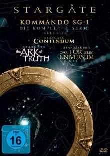 Stargate Kommando SG1 Season 1-10, 62 DVDs