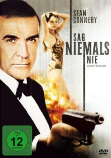 James Bond: Sag niemals nie, DVD