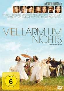 Viel Lärm um nichts (1993), DVD