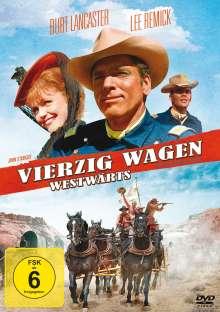 Vierzig Wagen westwärts, DVD