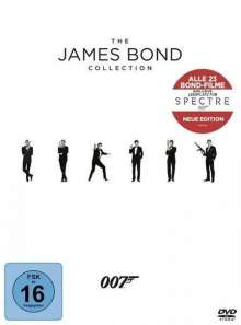 The James Bond Collection (2015), 23 DVDs