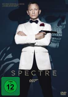 James Bond: Spectre, DVD