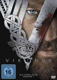 Vikings Season 1, 3 DVDs