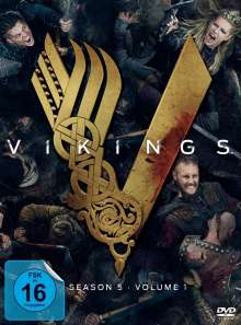 Vikings Season 5 Box 1, 3 DVDs