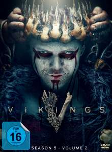 Vikings Season 5 Box 2, 3 DVDs