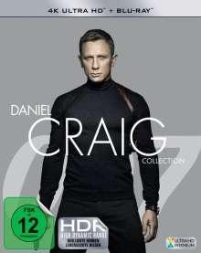 Daniel Craig Collection (Ultra HD Blu-ray & Blu-ray), 8 Ultra HD Blu-rays