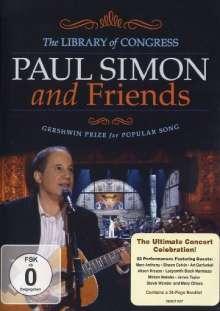 Paul Simon & Friends: Gershwin Prize For Popular Song 2007, DVD