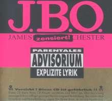 J.B.O.     (James Blast Orchester): Explizite Lyrik (20 Jahre Jubiläums-Edition) (Digipack), CD