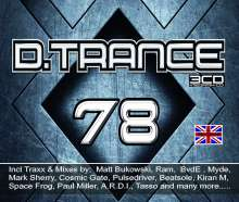 D.Trance 78, 4 CDs