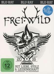 Frei. Wild: 15 Jahre mit Liebe, Stolz und Leidenschaft, 3 Blu-ray Discs