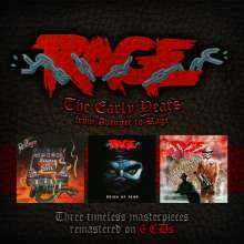 Rage: The Early Years: From Avenger To Rage, 6 CDs