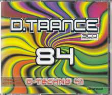 D.Trance 84 + D-Techno 41, 4 CDs