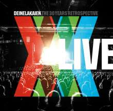 Deine Lakaien: The 30 Years Retrospective: Live, 2 CDs