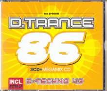 D.Trance 86 (Incl. D.Techno 43), 4 CDs