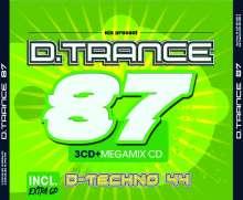 D.Trance Vol.87 (incl.D.Techno 44), 4 CDs