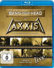 Axxis: Bang Your Head With Axxis, Blu-ray Disc