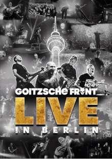 Goitzsche Front: Live in Berlin, 2 CDs und 2 DVDs