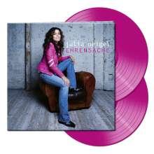 Julia Neigel: Ehrensache (Limited Edition) (Pink Vinyl) (handsigniert, exklusiv für jpc), 2 LPs
